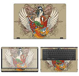 decalrus - Protective Decal Tattoo Skin Sticker for Asus Q52