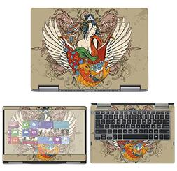 decalrus - Protective Decal Tattoo Skin Sticker for Dell Ins