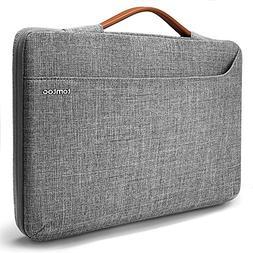 tomtoc 14 inch Laptop Sleeve Handle Zipper Case Compatible w