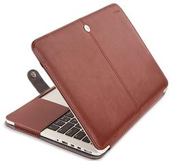 Mosiso PU Leather Book Cover Folio Case with Stand Function