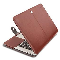 MOSISO PU Leather Case Only Compatible MacBook Air 11 Inch A