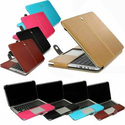 """PU Leather Laptop Sleeve Bag Case Cover for MacBook 12"""" Air"""