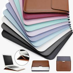 Pu Leather Laptop Sleeve Bag Pouch Case Cover For Macbook 11