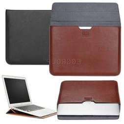 PU Leather Laptop Sleeve Case Hand Bag For Macbook Mac 11 Ai