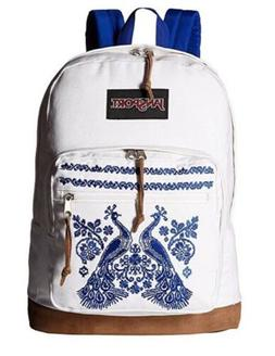 JanSport Right Pack Expressions Laptop Backpack - Peacock Pl