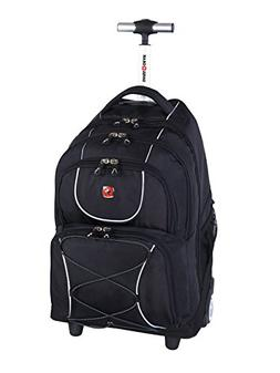 "Swiss Gear 15.6"" Rolling Computer Backpack"