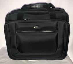 "Rolling Laptop Case 17"" Computer Business Bag Wheeled Travel"