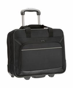 AmazonBasics Rolling Laptop Case Black