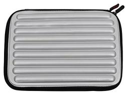 DURAGADGET Silver Laptop Sleeve/Case in Shock-Absorbing & Wa