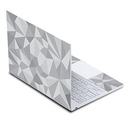 MightySkins Skin for Google Pixelbook - Gray Polygon | Prote