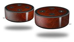 Skin Wrap Decal Set 2 Pack for Amazon Echo Dot 2 - Trivial W