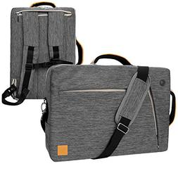 slate gray convertible laptop bag