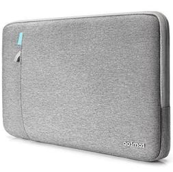 "Tomtoc sleeve case 13"" x 10""  gray laptop tablet inner Surfa"