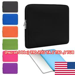 Sleeve Case Cover Laptop Bag For MacBook Air Pro Lenovo HP D