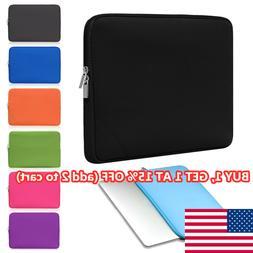 Sleeve Case Cover Laptop Bag For MacBook Air Pro Lenovo HP D