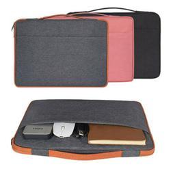 "Slim 11-6-15.6"" Ultrabook Laptop Soft Neoprene Handle Carryi"