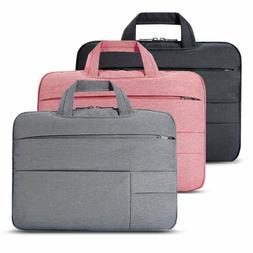 """Slim 13"""" 14"""" 15"""" Luxury Ultrabook Laptop Sleeve Handle Bag P"""