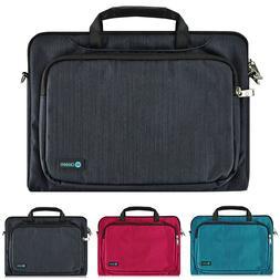 "Slim  13.3"" Luxury Ultrabook Laptop Sleeve Handle Bag Pouch"