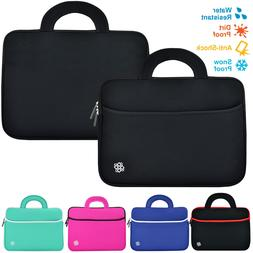"Slim 15.6"" Ultrabook Laptop Soft Neoprene Handle Carrying Sl"
