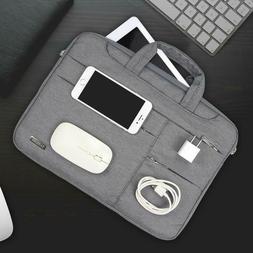 Slim Waterproof Laptop Sleeve Case Carry Bag for 12 12.9 13