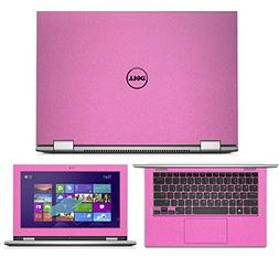 Sparkling Pink decal Skin wrap skin case for Dell Inspiron 1