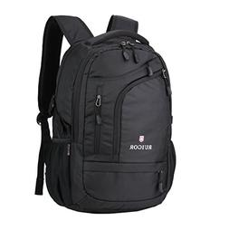 "Swiss Ruigor 6166 Water Resistant Backpack Fit For 15.6"" Lap"