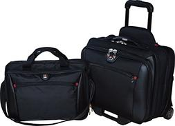 SwissGear Potomac 2-Pc Business Set With Double Zipper Overn