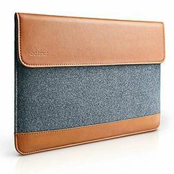 tomtoc Ultra Slim 15 Inch Laptop Sleeve Case Cover Felt & PU