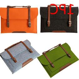 Universal With Handle Felt Laptop Bag Carrying Case Protecti