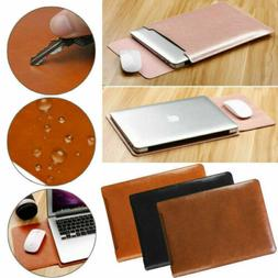 US For 2020 MacBook Air Pro 13 A2289 A2179 Laptop Leather Sl