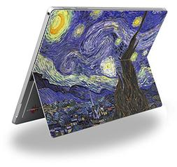 Vincent Van Gogh Starry Night - Decal Style Vinyl Skin