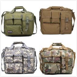Vintage Nylon Military Tactical Bag Shoulder Messenger Bag L