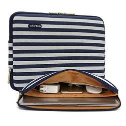 Kayond Canvas Water-Resistant 13 inch Laptop Sleeve -13 inch
