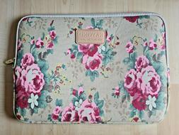 KAYOND Water Resistant Laptop Sleeve Bag Bohemian Canvas Cas
