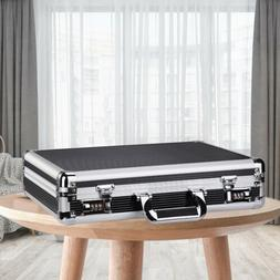 Waterproof Aluminum Hard Briefcase Office Laptop File Passwo