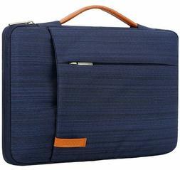 Lacdo Waterproof Canvas Laptop Tablet Sleeve Case Bag Briefc