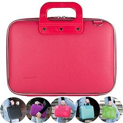 "15"" Waterproof Hard Shell Soft Leather Laptop Shoulder Bag L"