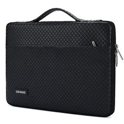 DOMISO 14 Inch Waterproof Laptop Sleeve Notebook Portable Ca