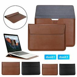 Waterproof Leather Laptop Bag Sleeve Case for MacBook Pro Ai