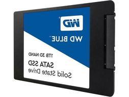 """WD Blue 3D NAND 1TB PC SSD - SATA III 6 Gb/s 2.5""""/7mm Solid"""
