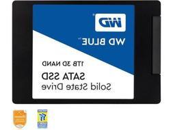 """WD Blue 3D NAND 1TB PC SSD - SATA III 6 Gb/s, 2.5""""/7mm - WDS"""