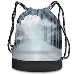 HannahMia Unisex Woman Man's Cloud Computing Computer Networ