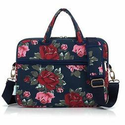 women laptop carrying case shoulder bag briefcase