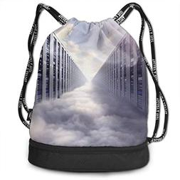 HannahMia Unisex Womens Man's Cloud Computing Computer Netwo