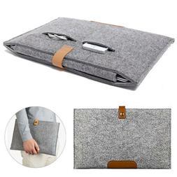 Wool Felt Envelope Sleeve Laptop Case Bag For MacBook Air Pr