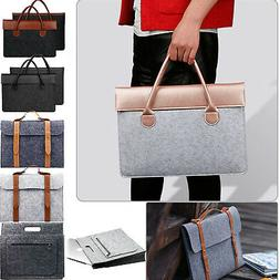 Woolen Felt Sleeve Case Carry Pouch Bag Cover For MacBook Ai